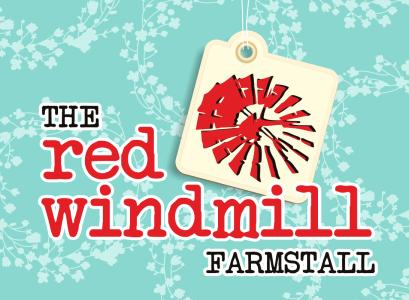 The Red Windmill Farm stall