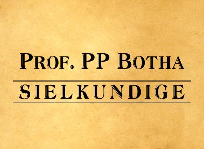 Prof. PP Botha